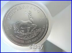 50 x 2019 Krugerrand + 2018 Britannia 1oz Silver bullion coins 2x 25oz new tubes