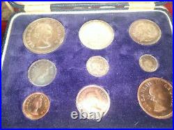 5,2.5,2,1,6d, 3d Shillings 1956 South Africa Silver Coins plus 3 others