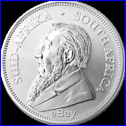 5 x 2020 1oz Silver Krugerrand 1 ounce silver bullion coin in coin capsule # 4