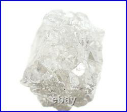 8.30 TCW Natural Diamond Silver White Crystal Uncut Rough Natural Loose Diamond