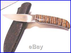 Arno Bernard Mammoth Molar Prehistoric HandlesFixed Blade