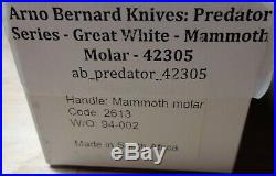 Arno Bernard Predator Series Great White Fossil Scales Prehistoric 42305 Superb
