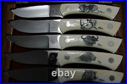 Custom Knife Set Pieter Viljoen (South Africa)