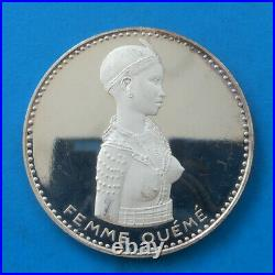 Dahomey 500 francs argent 1971 proof km 3.1