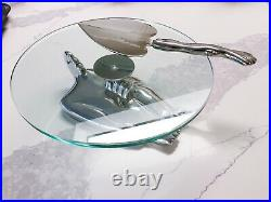 Engraved Carrol Boyes South African Sumo Cake Plate and Serve Set Never Used