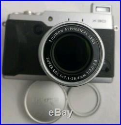 Fujifilm X30 12MP Digital Camera Silver