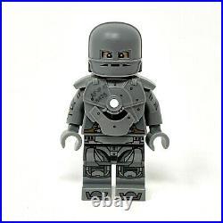 IRON MAN MARK I (Mk 1) SILVER Custom LEGO Minifigure by Christo (Christo7108)