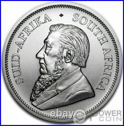 KILLER WHALE Ocean Giants Krugerrand 1 Oz Silver Coin 1 Rand South Africa 2020