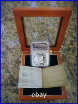 KRUGERRAND 2017 S. AFRICA 50th ANNIV PROOF S1RAND SILVER COIN NGC PF69 UC