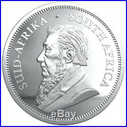 KRUGERRAND 2020 2 oz 2 Rand Pure Silver Proof Coin South Africa IN STOCK