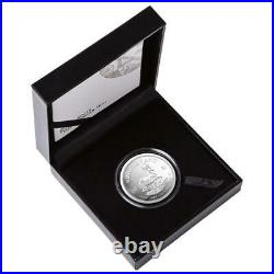 KRUGERRAND 2021 1 oz 1 Rand Pure Silver Proof Coin in Box South Africa