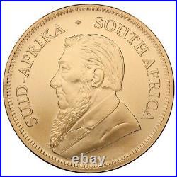 Krugerrand 1 Oz Gold Bullion Coin 2021