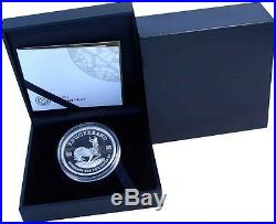 Krugerrand 2018 South Africa Fine Silver Proof Coin 1 Oz