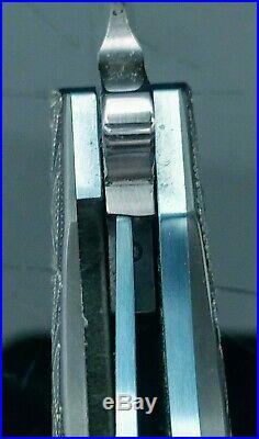 L36S Flipper with Silver Strike Carbon Fiber and Zirconium