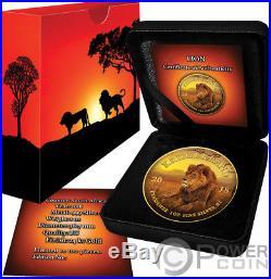 LION Krugerrand Big Five 1 Oz Silver Coin 1 Rand South Africa 2019