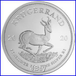 Lot of 25 2020 South Africa Silver Krugerrand 1 oz Brilliant Uncirculated