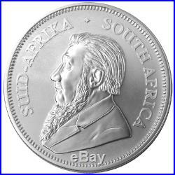 Lot of 5 10 Coin Roll 2018 South Africa Silver Krugerrand 1oz PCGS BU FDOI L