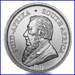 Lot of 5 2018 South Africa 1 oz Silver Krugerrand BU