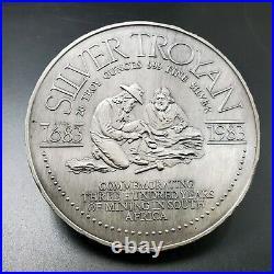 Low Mintage 1983 20 oz. 999 Silver Troyan Gold Hard Asset Exchange South Africa