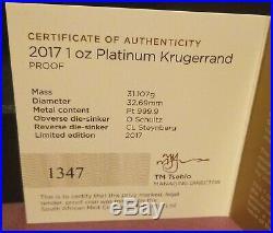 NGC PF70 Ultra Cameo Gold, Platinum & Silver 1 oz. Krugerrands
