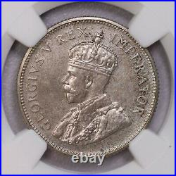 Ngc-pf65 1923 South Africa 6pence+shilling Silver 2pcs Top Grade Proof