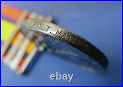 Queens South Africa Medal T Matthews 2nd Royal West Kent Regt. Died Of Disease
