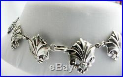 RARE EXcePTionaL Joe Calafato CANDIDA 925 sterling silver choker collar necklace