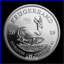 Rare PF70 FR 2019 South Africa 2-Coin Silver Krugerrand & Elephant Proof Set