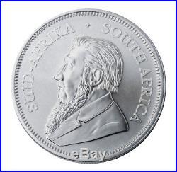 Roll of 25 2019 South Africa 1 oz Silver Krugerrand 1 Rand BU PRESALE SKU56599