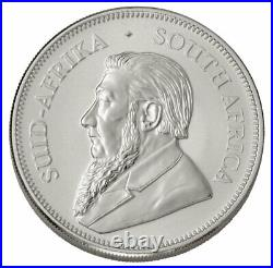 Roll of 25 2021 South Africa 1 oz Silver Krugerrand R1 Coins GEM BU
