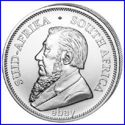 Silber Krügerrand Tube 25x 2021 1 OZ Krugerrand Silver Südafrika South Africa