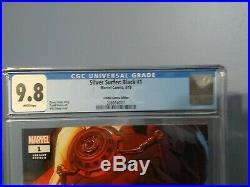 Silver Surfer Black #1 Cosmic Comics Variant CGC Graded 9.8. 1 of 3000