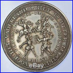 South Africa 1901 English Atrocities in the Boer War Dutch Silver medal