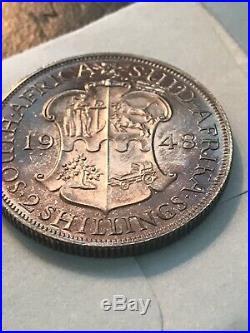 South Africa 1948 9 Pcs proof set Original WithSAM BOX TONED