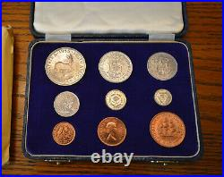 South Africa 1955 Short Proof Set with SAM Box Free Shipping