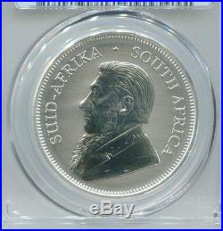 South Africa 2017 First Ever 50th Anniversary Silver Krugerrand PCGS Graded SP69