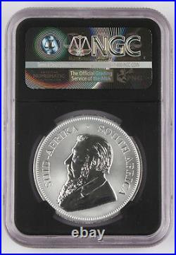 South Africa 2017 Krugerrand 50 Anniversary 1 Oz Silver Coin NGC SP70 First Day