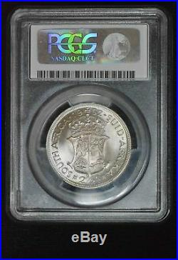 South Africa 2 1/2 Shillings 1952 PR68 PCGS silver KM#39.2 TIED FINEST KNOWN