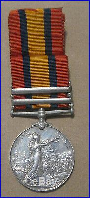 South Africa 2nd Boer War Silver Medal WithRibbon