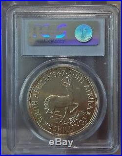 South Africa 5 Shillings, 1947, Proof, PCGS PR64