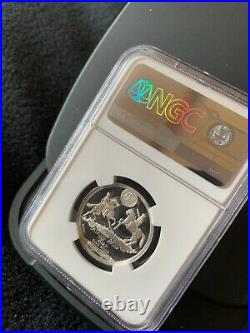 South Africa Anglo Boer War Set. 6 Silver Medals NGC Proof graded. Mintage=300