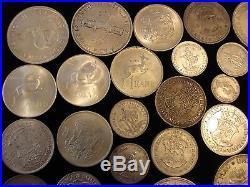 South Africa Silver Coins Bulk ZAR incl 1984 2 Shillings 1892 2 1/2 #ZY1d