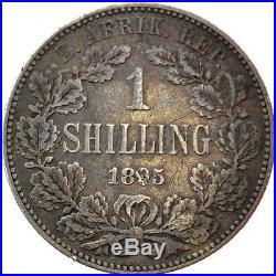 South Africa ZAR 1 Shilling 1895 RARE