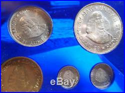 South African Proof Set 1963 NICE 9 Piece. Gold & Silver. LG005