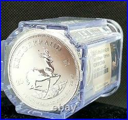 South African Silver Krugerrand Coin NGC Gem Roll (Premium Uncirculated)
