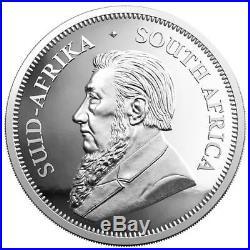 Südafrika 1 Rand 2018 Krügerrand im Etui 1 Oz Silber PP