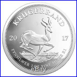 Südafrika 2017 Krügerrand 1 Oz Silber PP