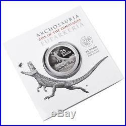 Südafrika 2019 Kombi Angebot Big Five Elefant + Archosaurier 2 x 1 Oz Silber ST