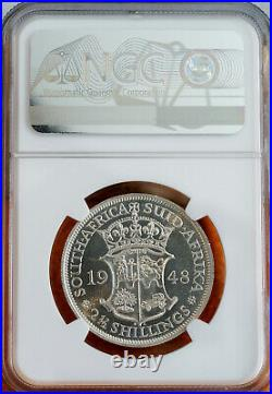 Union of South Africa, 2 1/2 Shilling, 1948, PR65, Proof 65, NGC, Silver