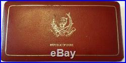=== Zaire 1975 Proof Silver 2.5 & 5 Zaires Original box! Very Rare ===